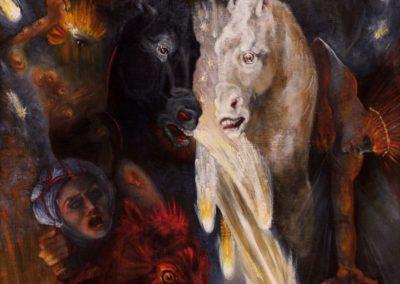 Apocalypse – Oil on Canvas - 24″ x 36″