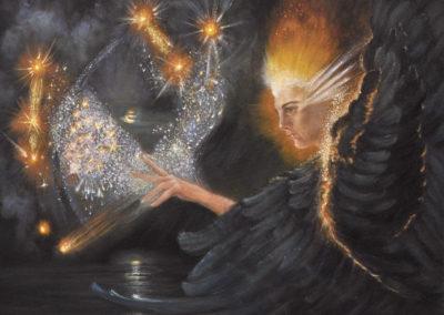 Creation – Oil on Canvas – 20″x16″