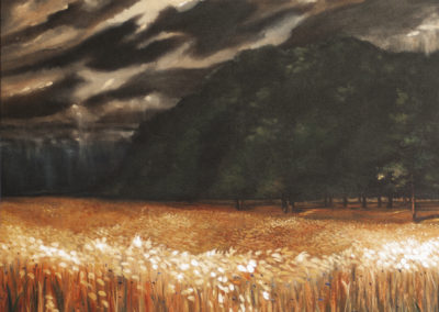 Eden – Oil on Canvas – 40″ x 40″